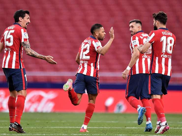 Atletico esulta - Getty Images