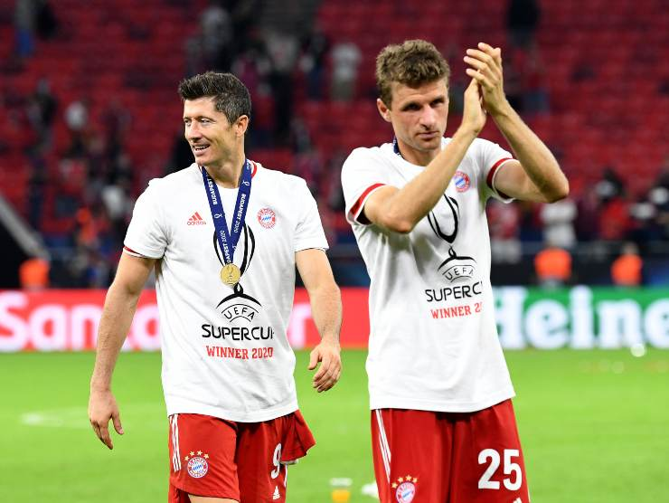 Bayern celebrato - Getty Images