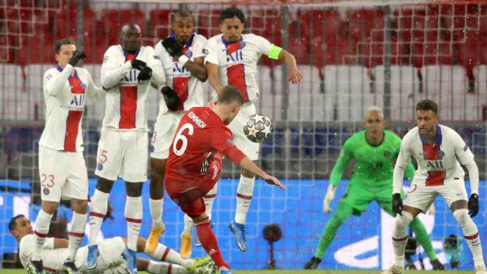 Punizione Bayern - Getty Images