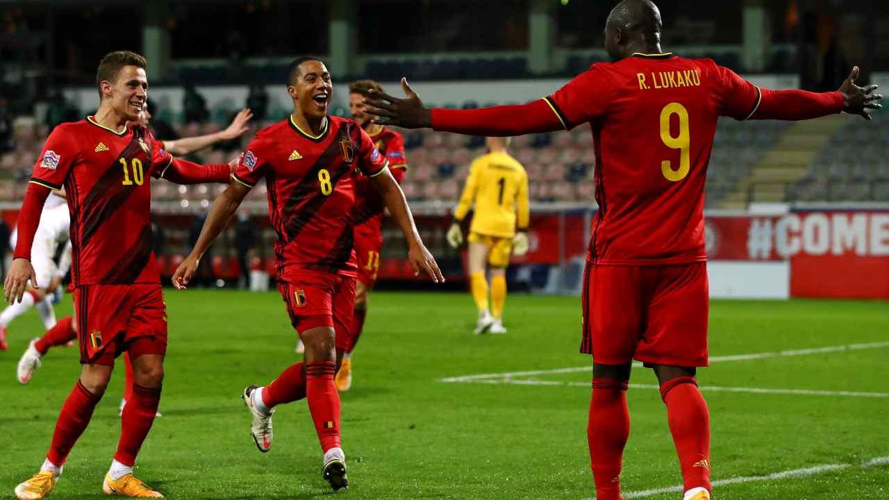 Belgio esulta Getty Images