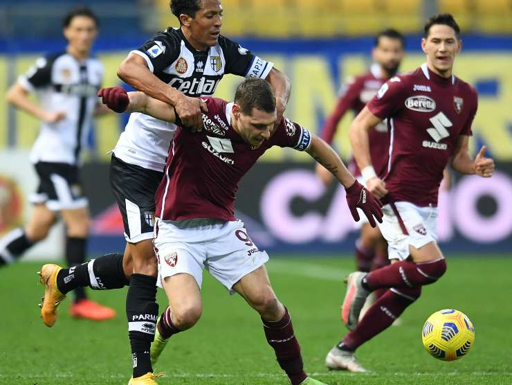 Belotti in contrasto - Getty images