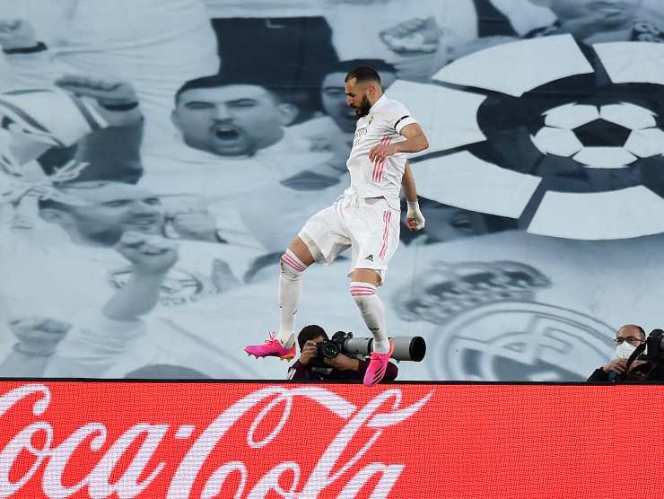 Benzema salto - Getty Images