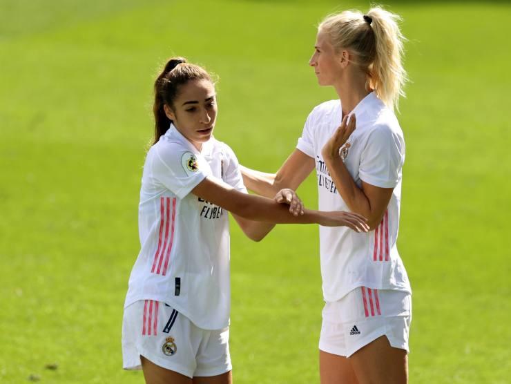 Calcio femminile Real Madrid