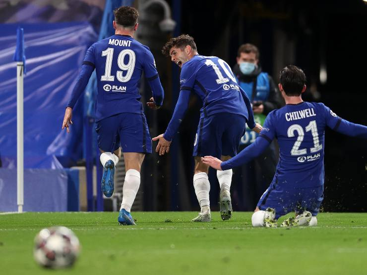 Chelsea esulta - Getty Images
