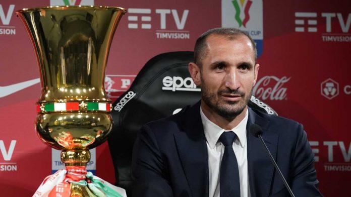 Chiellini con la Coppa - Getty Images