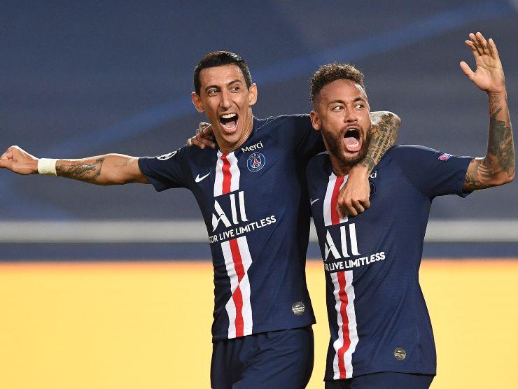 Di Maria e Neymar - Getty Images