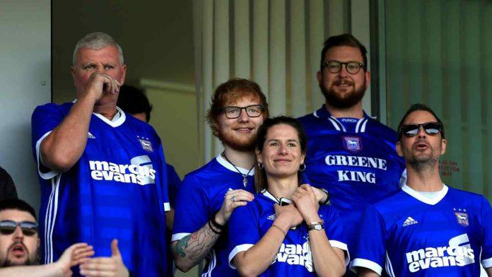 Ed Sheeran sponsor Ipswich Town