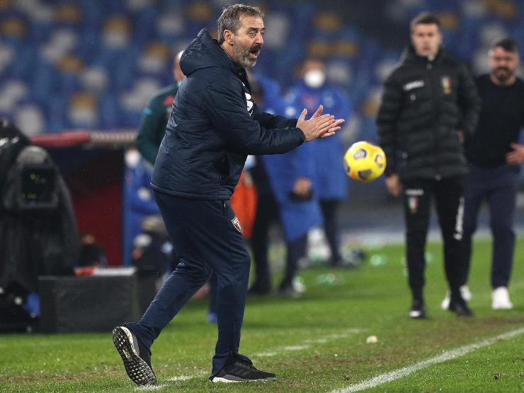 Giampaolo in campo - Getty Images