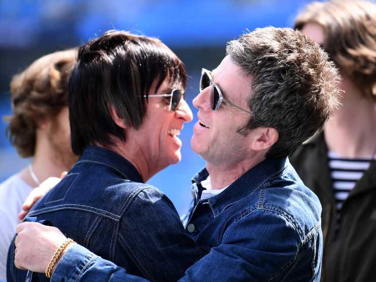 Johnny Marr e Noel Gallagher Manchester City