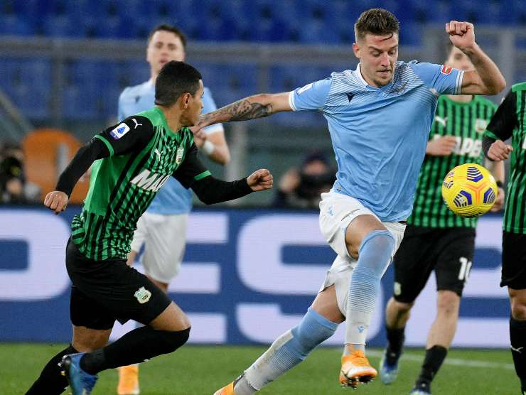 Milinkovic sfugge - Getty Images