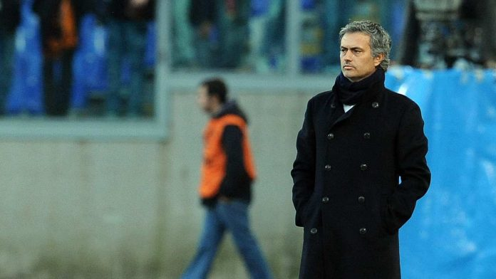 Mourinho all'olimpico - Getty Images