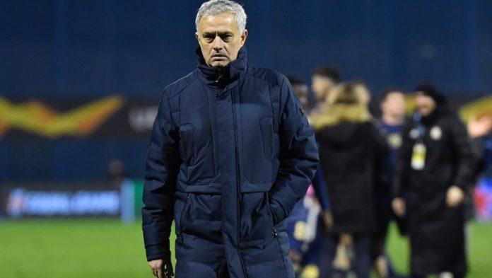 Mourinho arrabbiato