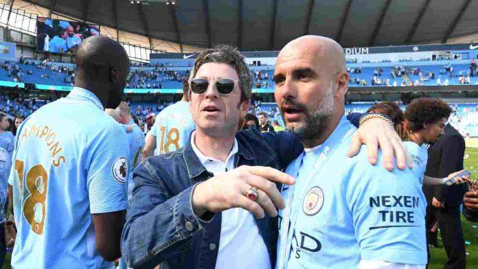 Noel Gallagher Manchester City