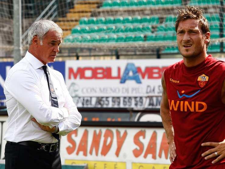 Ranieri e Totti - Getty images