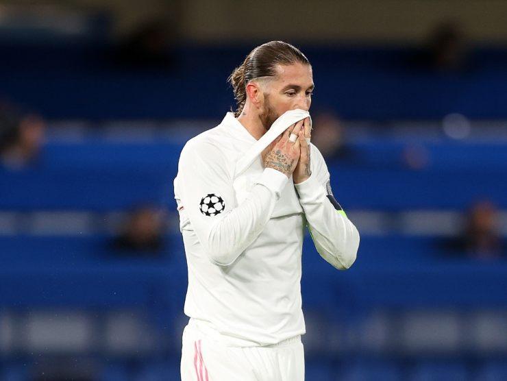 Sergio Ramos escluso Euro 2021