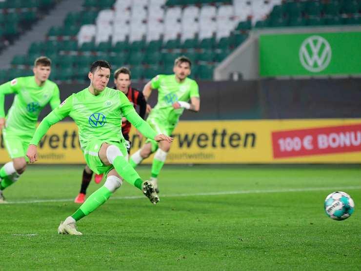 Wout Weghorst Wolfsburg gol