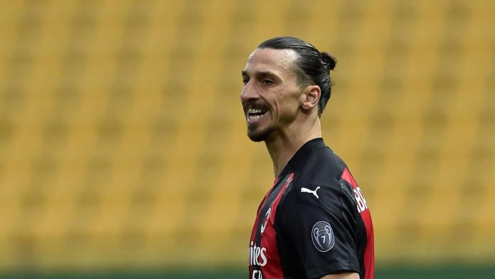 Zlatan Ibrahimovic Milan-Benevento