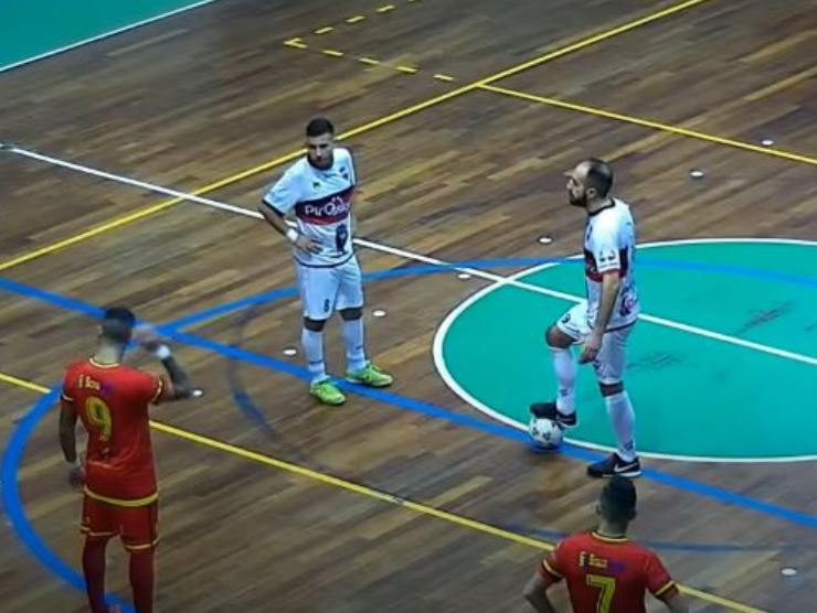 calcio d'avvio futsal - foto screenshot youtube Sportcom