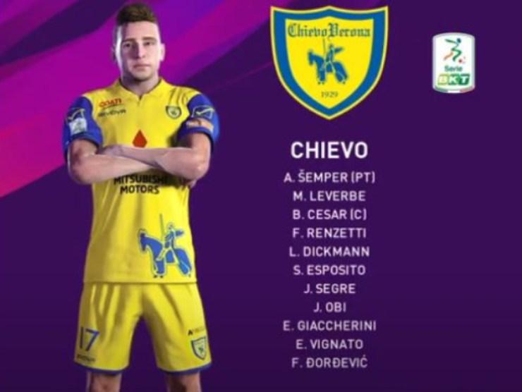 Chievo on line - foto youtube