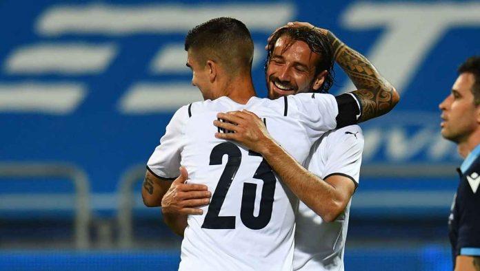ferrari gol esordio italia
