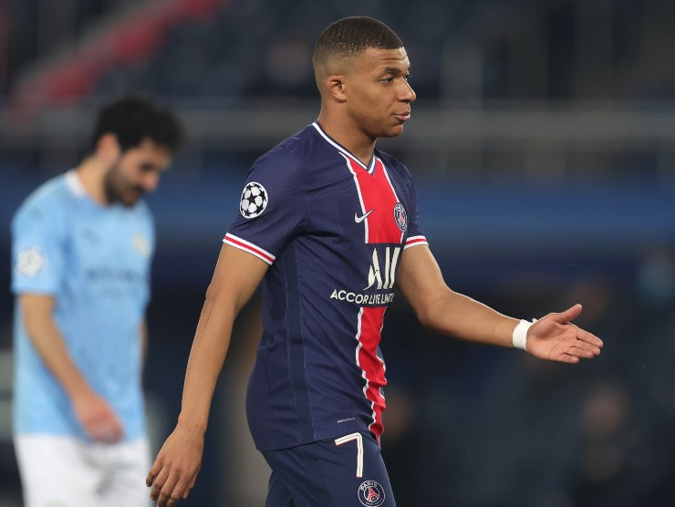 Mbappe rabbuiato - Getty Images