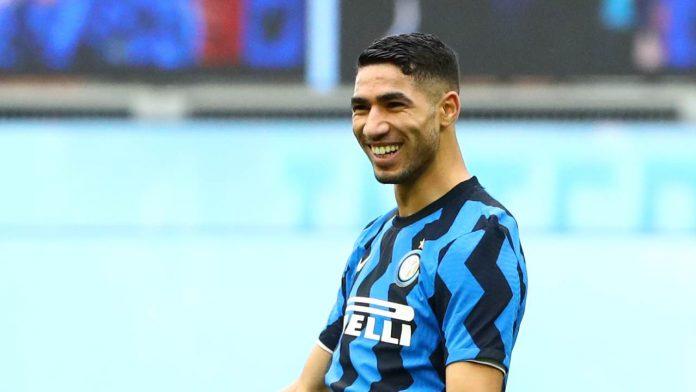 Achraf Hakimi terzino dell'Inter