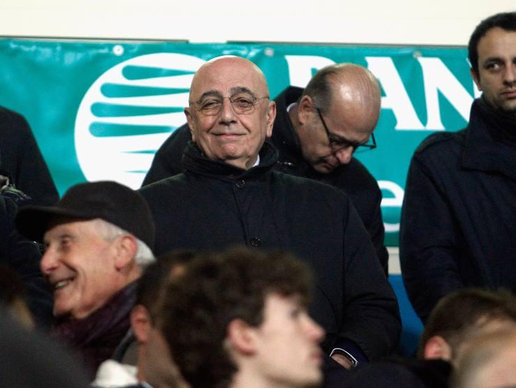 Adriano Galliani nipote calciatore