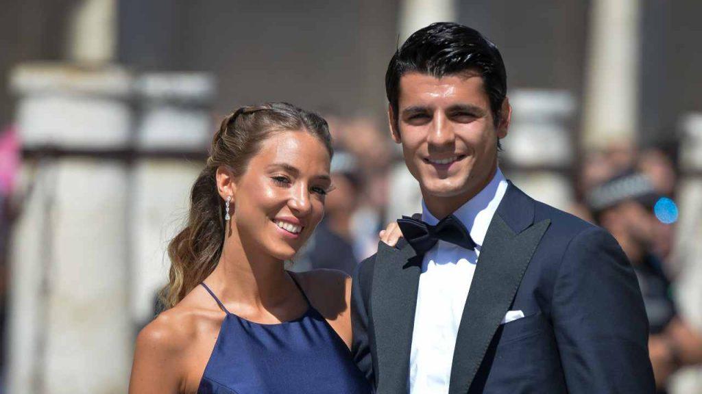 Alice Campello e Alvaro Morata