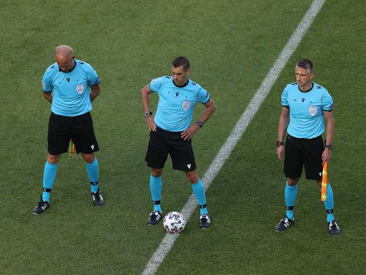 Arbitro Turpin Svizzera Galles Euro 2020