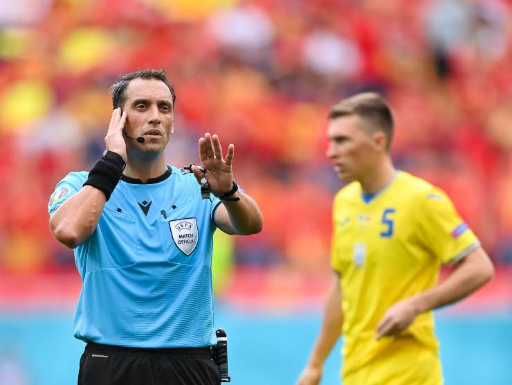 Arbitro Ucraina Macedonia Euro 2020