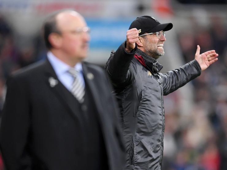 Benitez Klopp derby Liverpool