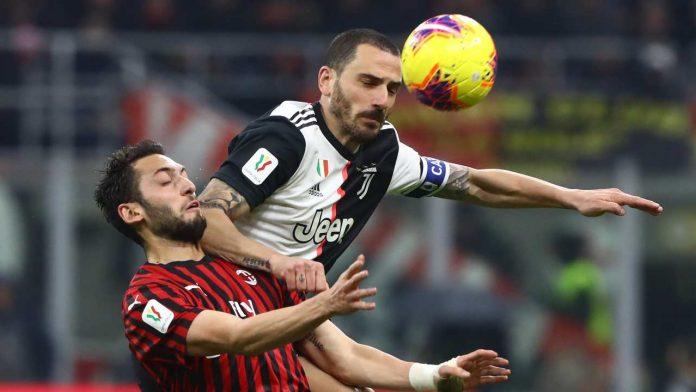 Bonucci e Calhanoglu - Getty Images