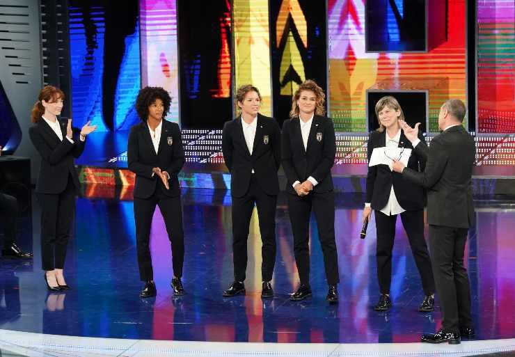cristiana capotondi delegazione nazionale femminile