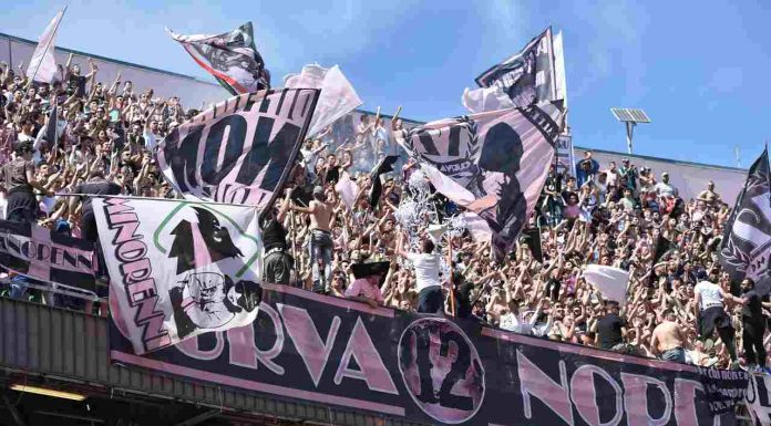 curva Palermo - Getty Images