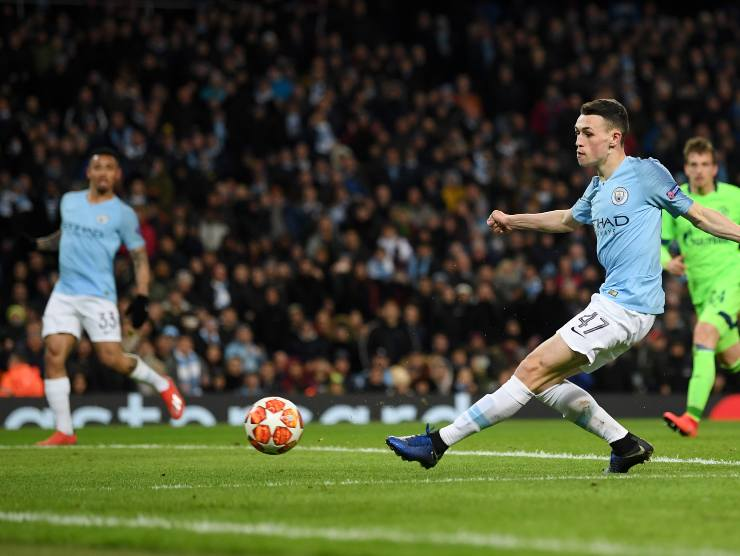 Foden in gol - Getty Images