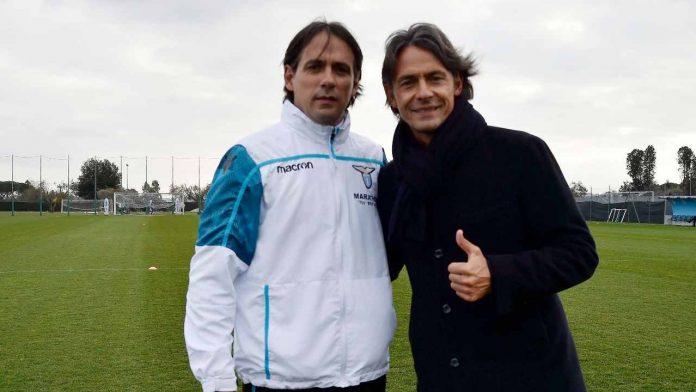 SImone e Pippo Inzaghi - Getty Images
