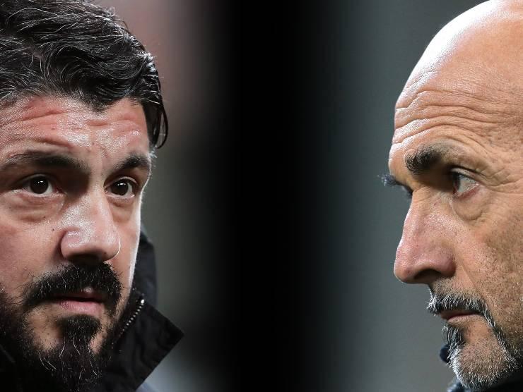 Gattuso vs Spalletti - Getty Images
