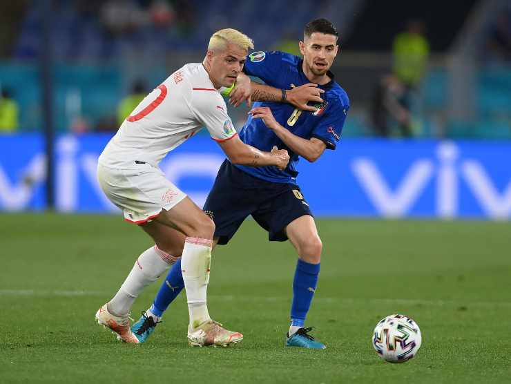 Jorginho Italia recupero palloni