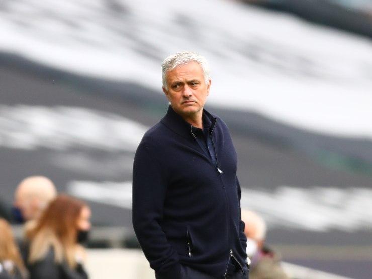 Jose Mourinho raduno Roma