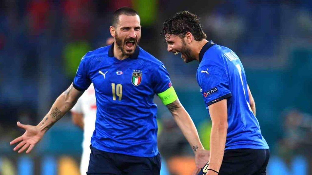Leonardo Bonucci Manuel Locatelli Juventus