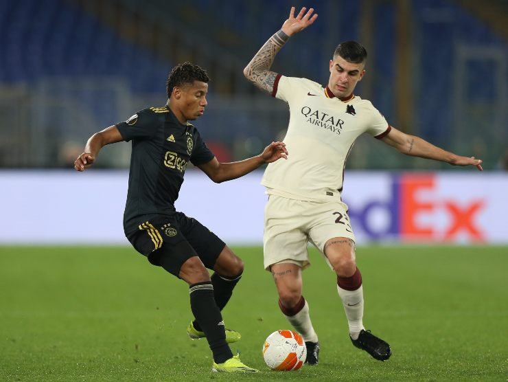 Gianluca Mancini in azione - Getty Images