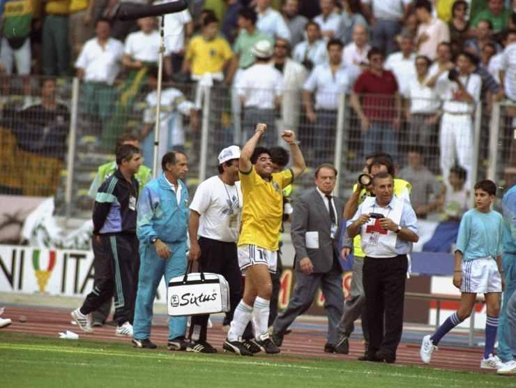 Maradona Brasile