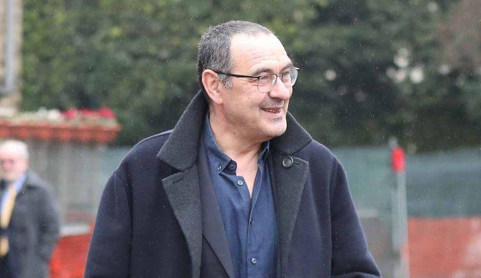 Maurizio Sarri scudetto