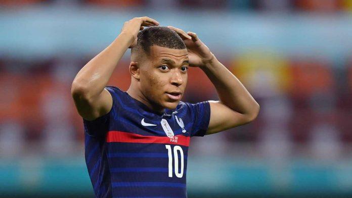 Mbappe rigore sbagliato Euro 2020