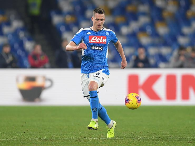 Milik in campo - Getty Images