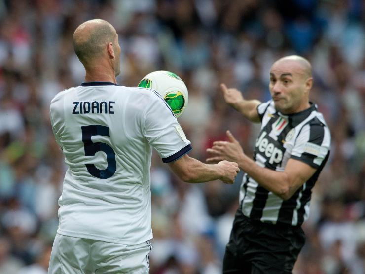 Montero vs Zidane - Getty Images