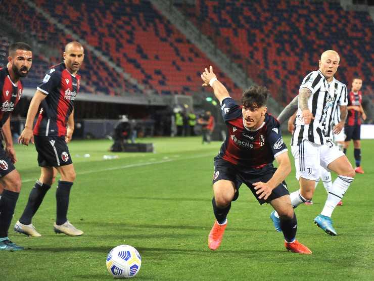 Orsolini in azione - Getty Images