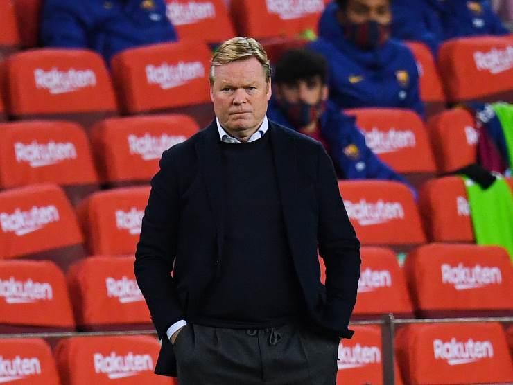 Ronald Koeman allenatore Barcellona