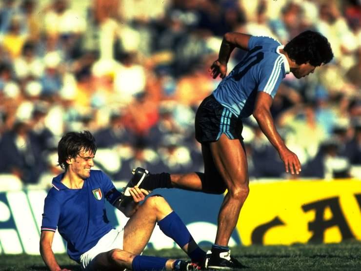 Tardelli vs Maradona - Getty Images