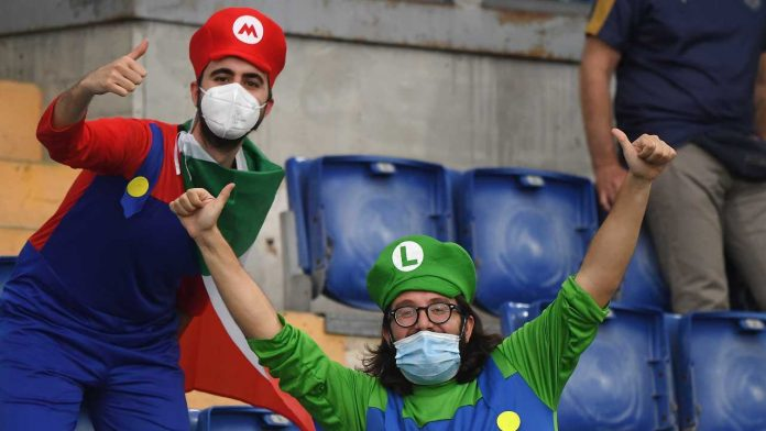 Tifosi Italia euro 2020